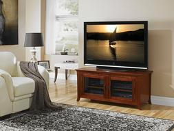 TechCraft PAL50 50in Wide Flat Panel TV Credenza Walnut