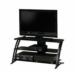 Deco Panel Tv Stand Black/Black by Studio RTA