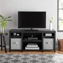 """Mainstay.. Parsons Cubby TV Stand Holds Up to 50"""" TV, Black"""