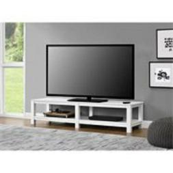 """Mainstays Parsons TV Stand for TVs up to 65"""", Multiple Color"""