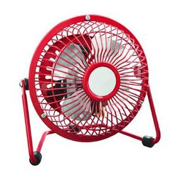 Personal Fan Small Compact Electric Floor Table Desk Home Of