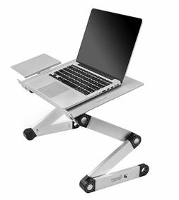 Portable Laptop Desk Adjustable Lightweight Lap Tray Stand B