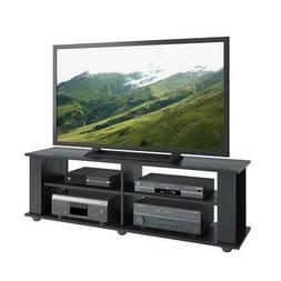 Ravenwood Black TV Stand, for TVs up to 68""