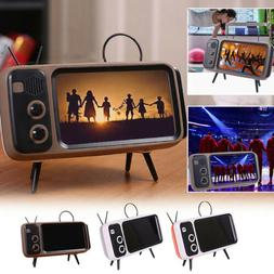 Retro TV Design Desktop Mini 4.7-5.5 inch Mobile Phone Stand