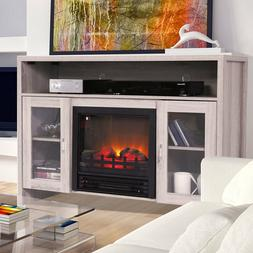 "Room Adjustable Electric Fireplace 42.5"" Large 1250 W  TV st"