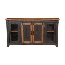 Martin Svensson Home 90905 Santa Fe TV Stand, Antique Black