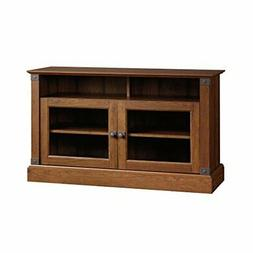 "Sauder Carson Forge Panel Tv Stand, For TV's up to 47"", Wash"