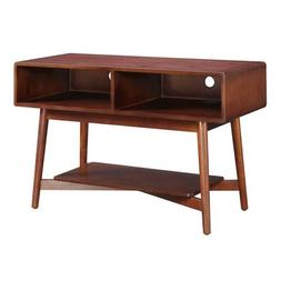 Convenience Concepts Savannah TV Stand, Mahogany, 46