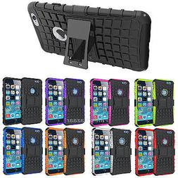 Shockproof Hard Heavy Duty Stand Armour Case Cover Apple iPh