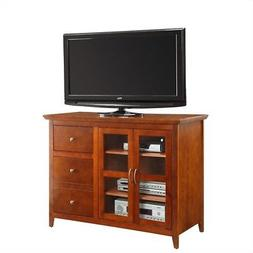 Convenience Concepts Sierra Highboy Black TV Stand for TVs u