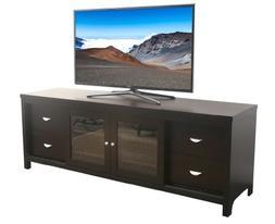 Abbyson Signature Solid Oak TV Console