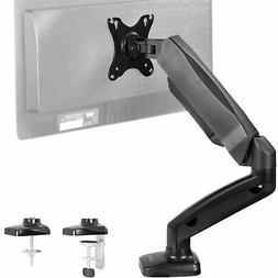 Single Monitor Counterbalance GasSpring Desk Mount Stand | F
