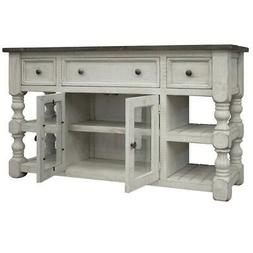 """Crafters and Weavers Stonegate TV Stand - 60"""""""
