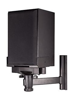 Mount-It! Speaker Wall Mount, Universal Side Clamping Booksh