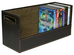 Stock Your Home DVD Storage Box with Powerful Magnetic Openi