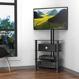 Free Standing TV Stand Unit Corner Shelf Fits 32-50 Inch TV
