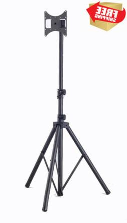 Elitech Steel Portable Plasma or LCD TV Tripod Stand for up