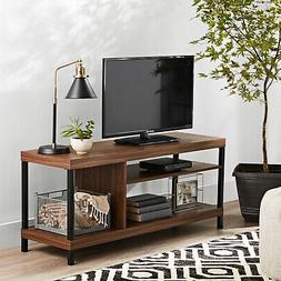Mainstays Sumpter Park Collection Media TV Stand For TVs Up