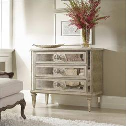 Hooker Furniture Sutherland Three Drawer Antique Mirrored Ch