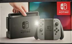 Nintendo Switch Game System Console Gray/Grey Joy-Con |BRAND