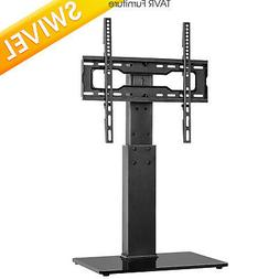 swivel tabletop tv base stand with mount