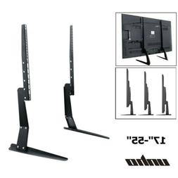 """27-55"""" Table Top TV Stand Leg Mount for Sony Vizio Samsung T"""