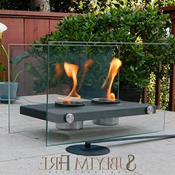 Tabletop Fireplace  Portable For Indoors/Outdoors. Uses Etha
