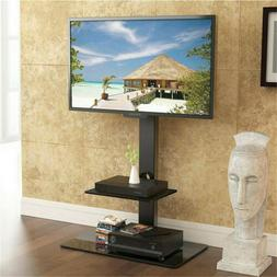 "Tall TV Stand Mount with Component Shelf for 32"" - 65"" for S"