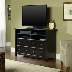 Tall TV Stand Storage Cabinet Wood Media Center Console Bed