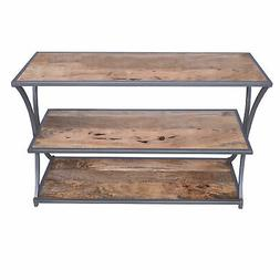 Three Tier Console Table TV Stand Furniture Entry Hall Livin