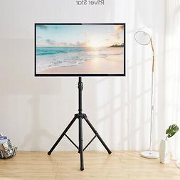 Tripod Portable Floor TV Stand Height Adjustable Mount 32-60