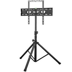 Tripod TV Display Floor Stand with Swivel & Tilt Mount for 3