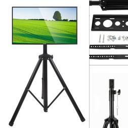Tripod TV Display Portable Floor Stand TV Stand Height Adjus