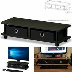 turn n tube monitor stand espresso black