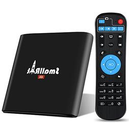 TV Box, SMALLRT X1 Android 6.0 Smart TV Box Supports True 4K