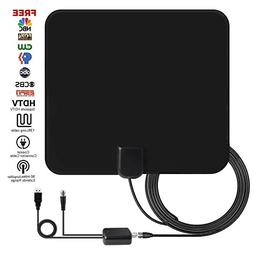 TV Antenna, Ucio HD Digital Indoor TV Antenna, 50 Miles Long
