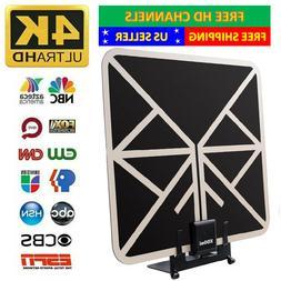 TV Antenna With Stand Indoor HDTV Amplified Digital TV Anten