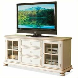 BOWERY HILL 69 Inch TV Console in Honeysuckle White