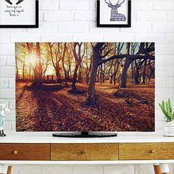 iPrint LCD TV Cover Multi Style,Farm House Decor,Sunset in c