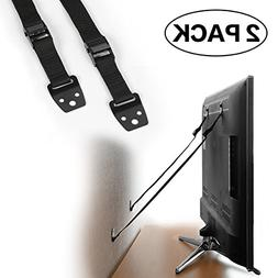 TV and Furniture Anti-Tip Straps,Baby Safe Wall Anchors,TV S