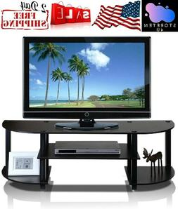 TV Stand 42 Inch Flat Screen Entertainment Console Media Cen