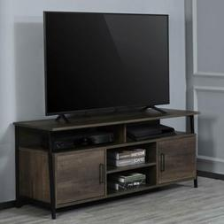 """TV Stand 58"""" Entertainment Center Media Console Furniture Wo"""