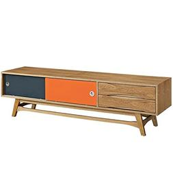 Hawthorne Collections TV Stand in Natural