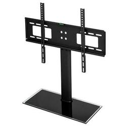 TV Stand Base with Universal Swivel Mount and Height Adjusta