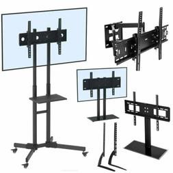 Universal TV Stand Base With Swivel Mount Height Adjustable