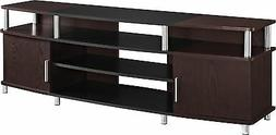 70 Inch TV Stand for Flat Screens Carson Cherry Furniture Mo