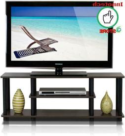 TV Stand Cabinet Home Entertainment Media Center Console Woo