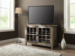 TV Stand Console Table Storage Cabinet Media Rustic Entertai