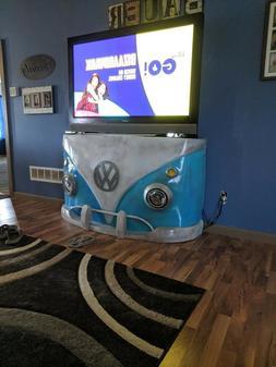 TV stand Custom VW bus car furniture mancave office