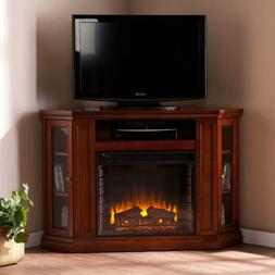 TV Stand Electric Fireplace Carter Convertible Media Storage